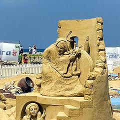 """фотоальбом """"Sand Sculptures"""""""