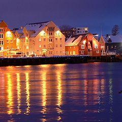 """photo """"Tromso, Student's Driv"""""""