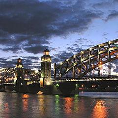"""фото """"Мост Петра Великого."""""""