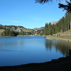 "фото ""blue lake"""