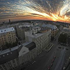 """фото """"Про городской закат..."""""""
