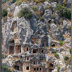 """photo """"Tombs of Lycia"""""""