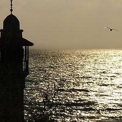 """photo """"Mediterranean sunset"""""""
