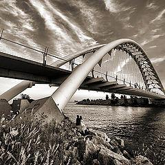 """photo """"Under the bridge"""""""