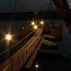 "photo ""Night mooring"""