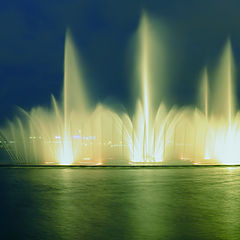 "photo ""St. Petersburg. Dancing fountain"""