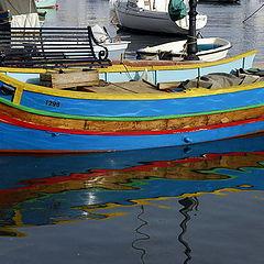 """photo """"Maltese boat"""""""