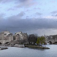 """photo """"Siene winter walks"""""""