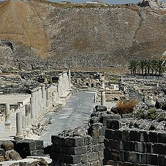 "photo ""The Roman trace. Beit-She'an"""