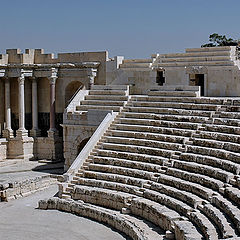 "photo ""At the ancient Theatre. Beit-She'an"""