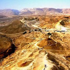 """фото """"Марсианский пейзаж-3 (пустыня негев)"""""""