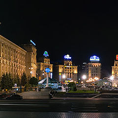 "фото ""Kiev at Night (panoramic)"""