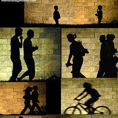 """фото """"shadows on the wall"""""""