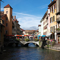 """photo """"Annecy Typical Wiew"""""""