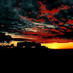 "photo ""Sunset in Campos do Jordão"""