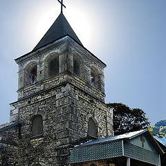 """фото """"Абхазия. Церковь Иоана Златоуста в Команах."""""""
