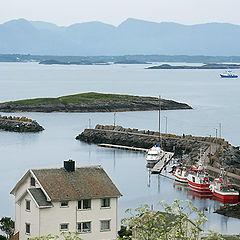 "photo ""Norwegian landscape"""
