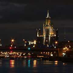 "photo ""The Night in Moscow"""