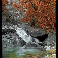 """photo """"Autumn in the lost River"""""""