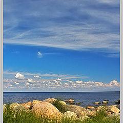 """фото """"Небо, камни и вода #2"""""""