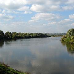 """photo """"On the bank of Oka river"""""""