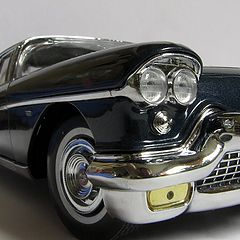 "photo ""Small (1:18) car series continues... 1957 Cadillac Brougham"""