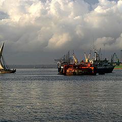 """photo """"Race in Zanzibar at dawn"""""""