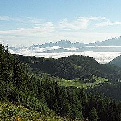 """photo """"Alpian sketches. Morning"""""""