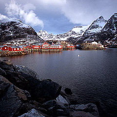 """фото """"Village of A - Lofoten Islands - Norway"""""""