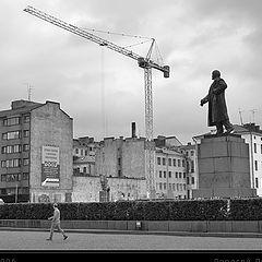 """photo """"Going road of Lenin"""""""