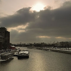 """фото """"Москва-река. На разных берегах..."""""""