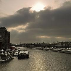 "photo ""Moskva river. Opposite"""