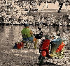 """photo """"Sunday fishing"""""""
