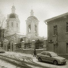 """photo """"Moscow, in Zvonary"""""""