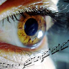 """фото """"Music from your eyes"""""""