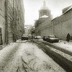 """photo """"Moscow, in Krapivky"""""""