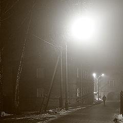 """фото """"Серия: Ночь, туман, огни и тени."""""""