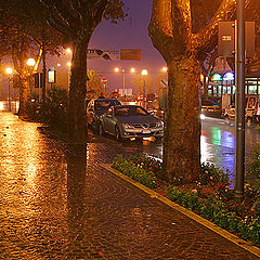 """photo """"Autumn evening in Rimini"""""""