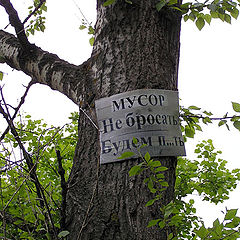 "photo ""The Green Peace in Russian"""