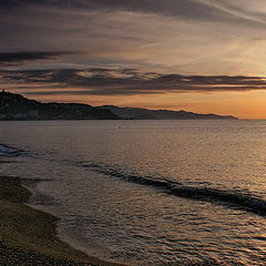 """photo """"The sea licks coast"""""""