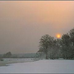 """photo """"Frosty morning etude"""""""
