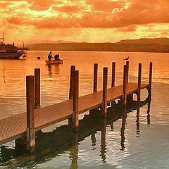 """photo """"Zurich Lake 1"""""""
