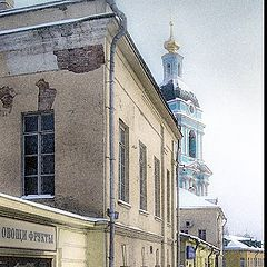 "photo ""Moscow, in Serebrenniky"""