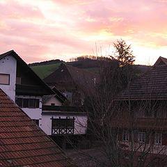 """photo """"Oberharmersbach's sky"""""""