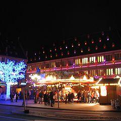 """photo """"Xmas light's in Strasbourg"""""""