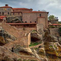 "photo ""Monastery in mountains"""