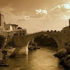 "фото ""postcard from Mostar"""