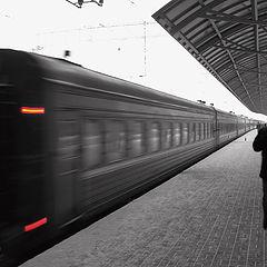 "photo ""the-train-departure"""