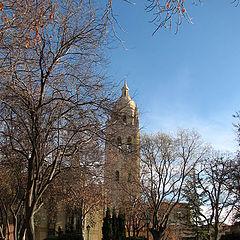 "photo ""Iglesia en invierno"""