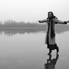"""фото """"Ходить по воде..."""""""